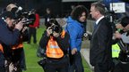 Photographers scramble to get the shot as O&#039;Neill takes charge of Northern Ireland for the first time at Windsor Park 