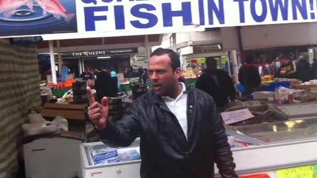 'One Pound Fish Man'