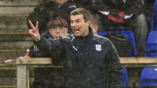 Dundee boss Barry Smith