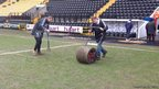 Pitch at Notts County Football Club
