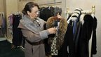 Clothes once belonging to Leila Ben Ali up for auction at Gammarth, Tunis, on 22/12/12