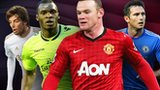 Michu, Christian Benteke, Wayne Rooney, Frank Lampard