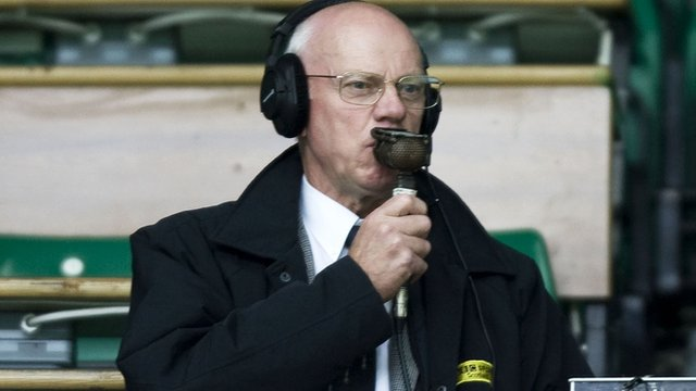 BBC Radio Scotland commenator David Begg