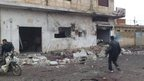 'Deadly strike' on Syria bakery