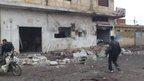 'Deadly strike' on Syria bakery