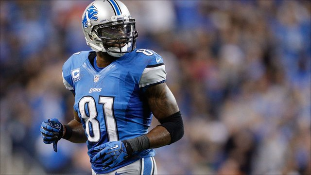 Calvin Johnson of the Detroit Lions