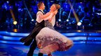 Kimberley Walsh dances the Vienese Waltz
