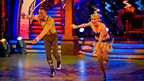 Denise Van Outen performs the Charleston