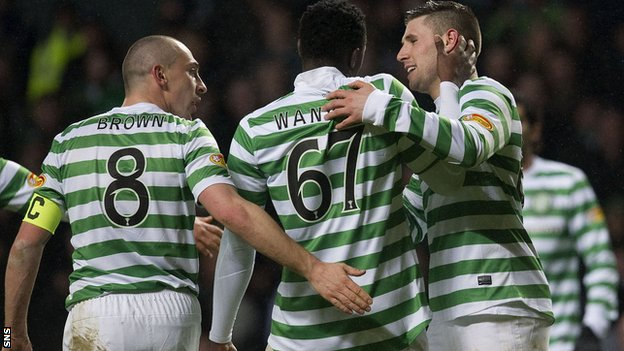 Celtic beat Ross County 4-0 on Saturday