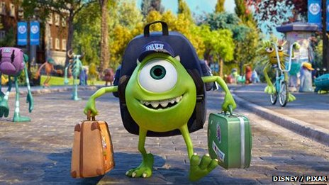 Promotional image from Monsters University