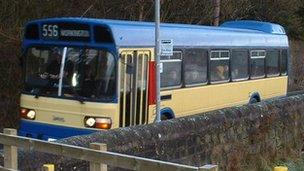 Bus. Picture: Workington Transport Heritage Trust