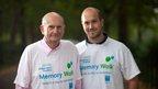 Gerry Anderson with his son Jamie Anderson