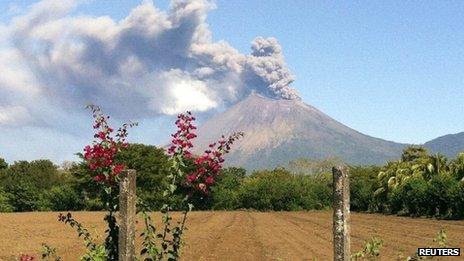 San Cristobal volcano - 26 December