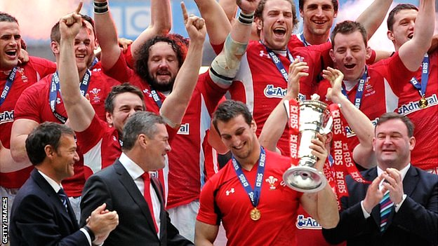 Wales won a third grand slam in eight years
