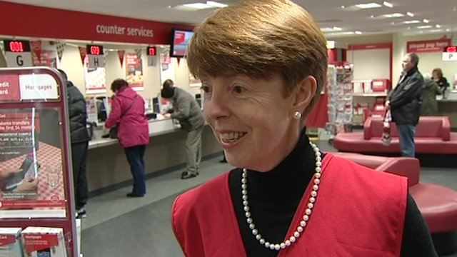 Post Office Chief Executive Paula Vennells