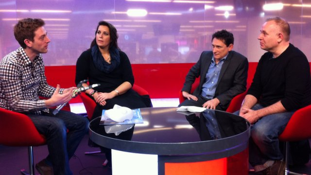 BBC Tech Summit, from left: Adam Leach, Emma Mulqueeny, Mark Gregory, Will Jackson