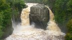 High Force during floods