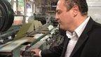 Cardboard factory owner, George Abu Aita