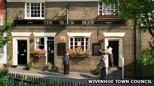 Black Buoy pub, Wivenhoe