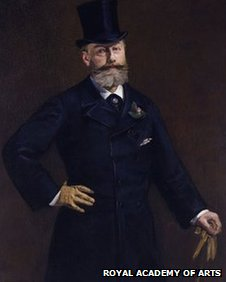Protrait of M Antonin Proust. 1180 by Edouard Manet