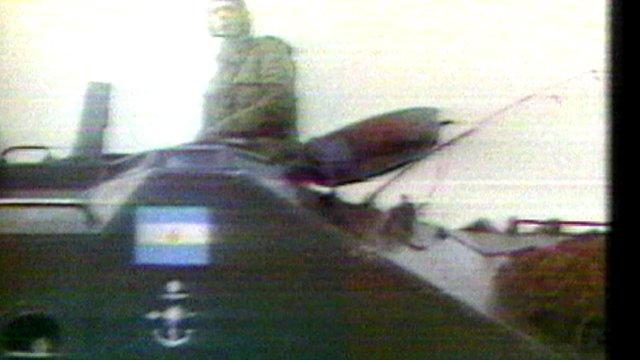 Tank in Falklands