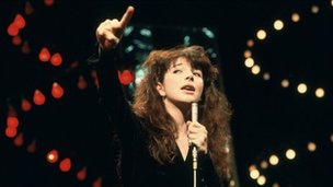 Kate Bush singing Wuthering Heights on Top of the Pops