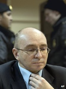 Dmitry Kratov in court, 28 Dec 12