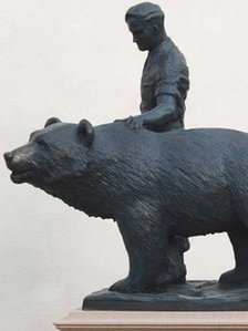 Wojtek and soldier