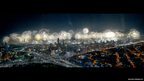 Firework display in Kuwait City