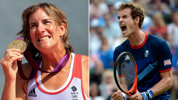 Katherine Grainger and Andy Murray