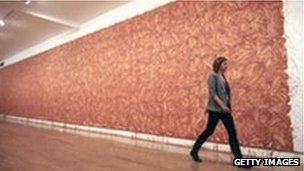 Artwork by Richard Long