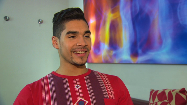 Olympic gymnast Louis Smith