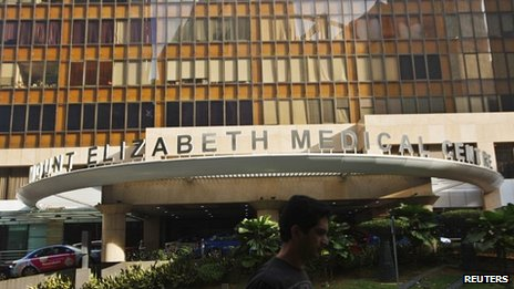 The Mount Elizabeth hospital in Singapore