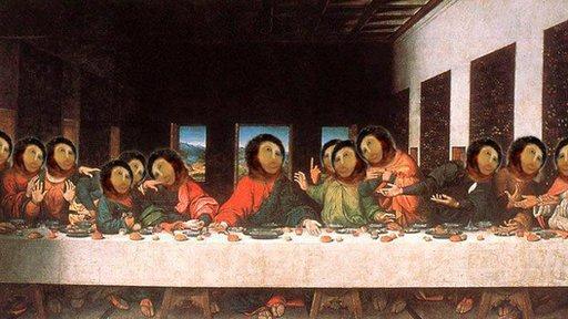 Ecce homo Last Supper