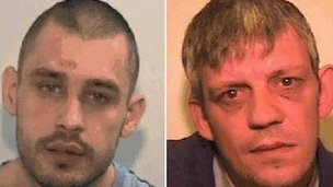 Daniel Warburton, 28, and David Cronin