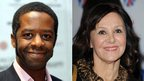 Adrian Lester and Arlene Phillips