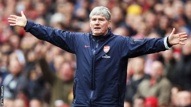 Pat Rice made 528 appearances for Arsenal