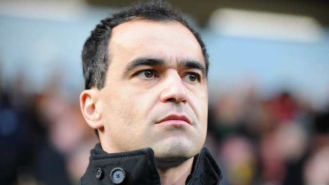 Wigan Manager, Roberto Martinez