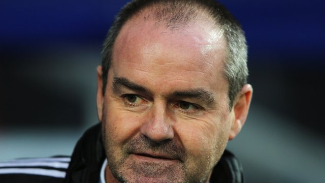 West Bromwich Albion manager Steve Clarke