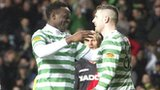 Victor Wanyama and Gary Hooper of Celtic