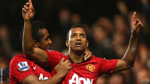 Nani with Anderson