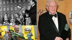 Gerry Anderson (top and bottom left) and Charles Durning