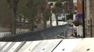 Ironbridge flood defences