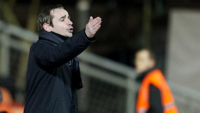 St Mirren boss Danny Lennon