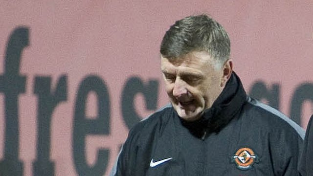 Dundee United assistant coach Paul Hegarty