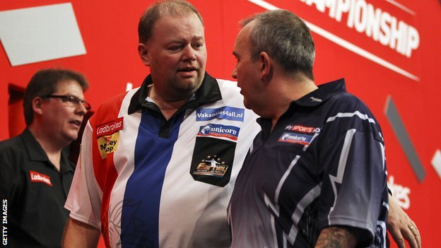 Raymond van Barneveld and Phil Taylor