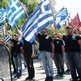 Supporters of Golden Dawn rally in Greece's second city, Thessaloniki, 28 June