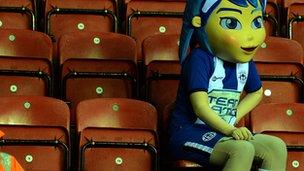 Wigan mascot
