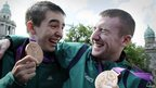 Michael Conlon and Paddy Barnes