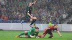 Northern Ireland v Portugal World Cup qualifier.
